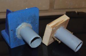 čmeláci PLUS dva způsoby napojení klapky na vnější chodbu