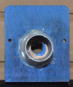 čmeláci PLUS pohled dovnitř chodby na klapce - neměníme vnitřní průsvit klapky samé