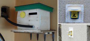 Čmeláci PLUS - Umístění úlku v garáži či sklepě s klapkou vyvedenou dlouhou trubkou