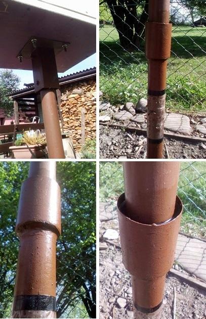 Čmeláci PLUS - Ochrana proti mravencům úlek na stojanu - detaily