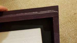 Čmeláci PLUS - Střecha úlku detail konstrukce rámečku