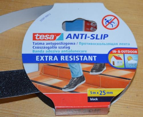 Tesa anti-slip nejlepší páska na protiskluzový proužek u nástupní plochy klapky