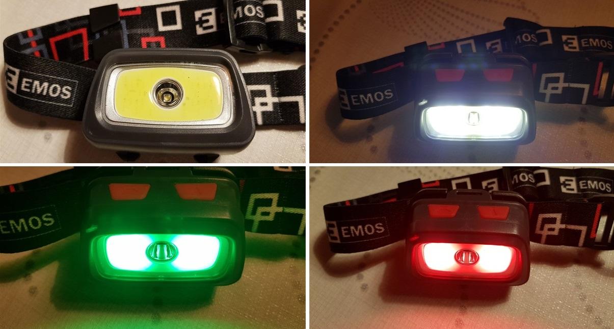 Čmeláci PLUS - Červené světlo - čelovka
