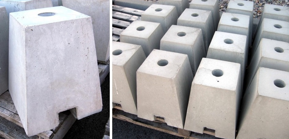 Čmeláci PLUS -Úlek na stojanu betonová patka