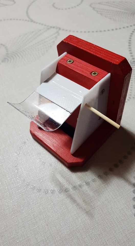 Čmeláci PLUS - Řešení pro zavírání klapky - špejle