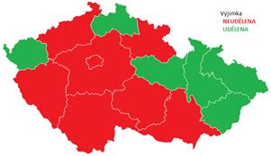 Čmeláci PLUS - Mapa ČR