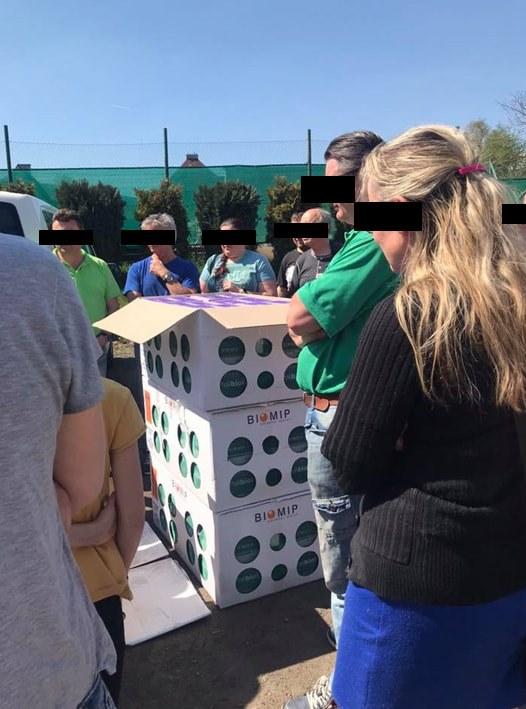 Čmeláci PLUS - Výdej čmeláků na parkovišti