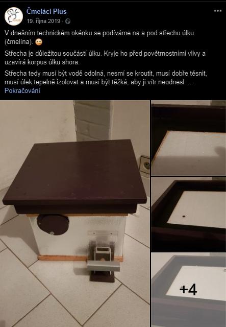 Čmeláci PLUS  - Střecha s vyjímatelnou izolační vložkou