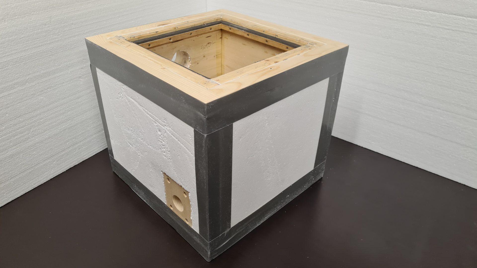Čmeláci PLUS - Úprava korpusu ulku - Polystyren vložený do konstrukce
