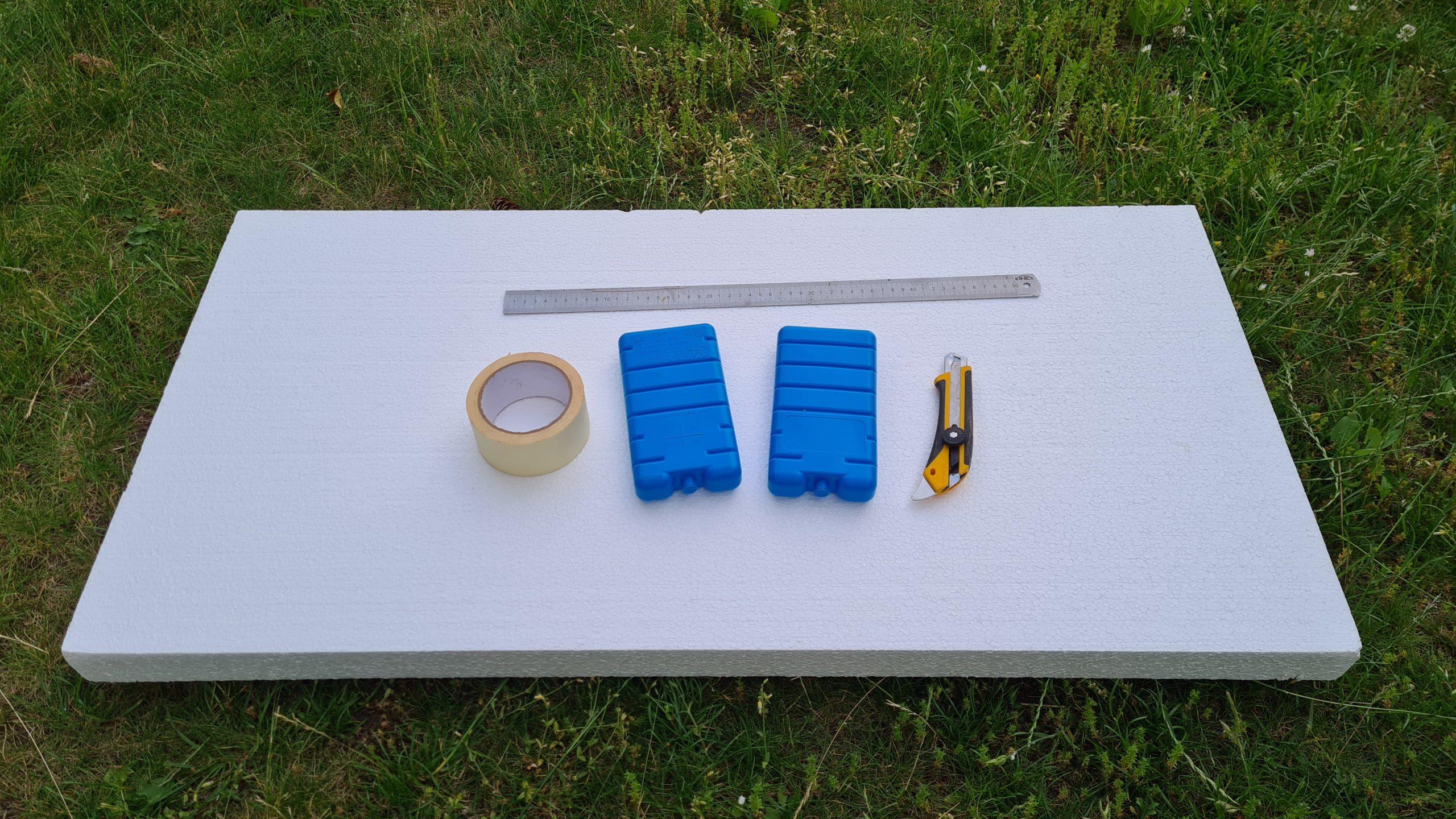Čmeláci PLUS - Chladicí rámeček z polystyrenu